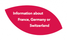 Information about France, Germany or Switzerland